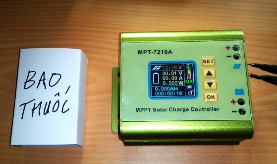 Sạc MPPT, 7210A