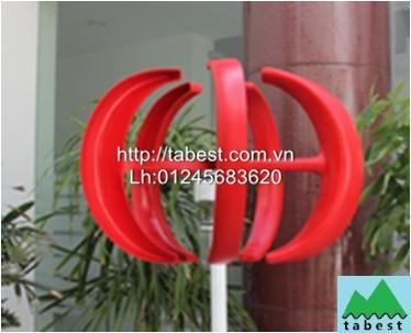 Phát điện gió trục dọc 400W